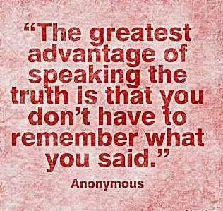 The Advantage of Truth