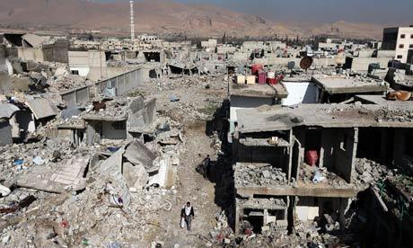 Damascus in ruin