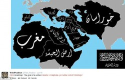 ISIS caliphate projection